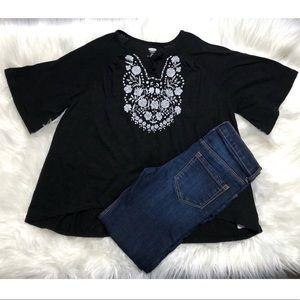 Girls bundle Old Navy top & Osh Kosh jeans S 6-7